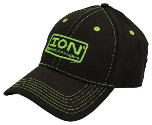 **NEW ION Auger Cap Logo Stretch Fit Black M//L 303650012110