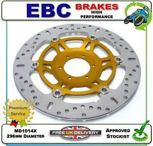 NEW EBC FRONT BRAKE DISC ROTOR MD1014X 296mm HONDA GL1800 GL 1800 A1-A3 01 02 03