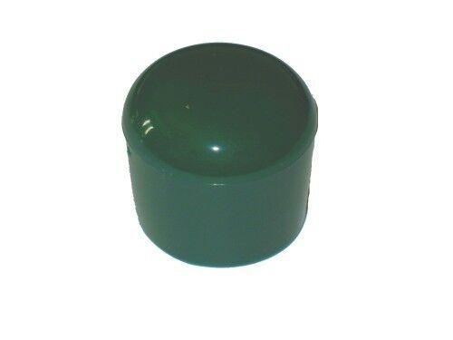 0.58€//1Stk 5 Stück Kappe für Rundrohr D=30 mm L=26 mm GRÜN PVC