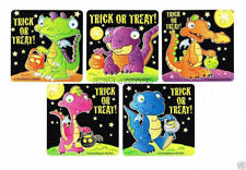 10 Glow in the Dark Dragon Halloween Stickers Kid Party Goody Bag Favor Supply