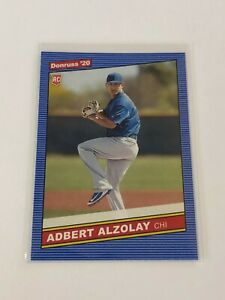 2020-Panini-Donruss-Baseball-039-86-Retro-Rookie-Adbert-Alzolay-RC-Chicago-Cubs