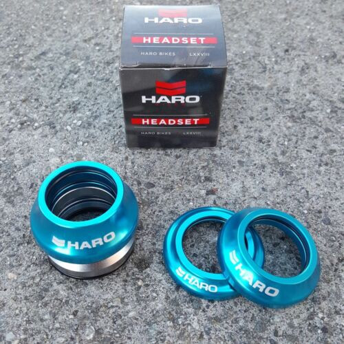 HARO DEADSET INTEGRATED HEADSET 1 1//8 THREADLESS BMX HEADSETS FIT CULT PRIMO