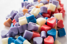 10 - 25 - 50 -100 HIGHLY SCENTED MINI SOY WAX MELTS MANY FRAGRANCES - FREE P&P