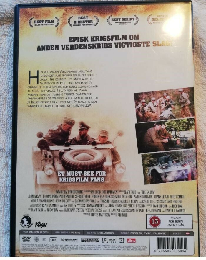The Fallen , DVD, drama