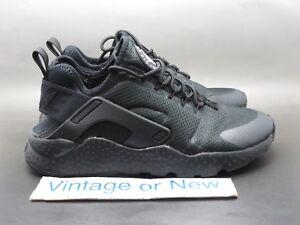 11911666728d Women s Nike Air Huarache Run Ultra Black White Running Shoes 819151 ...