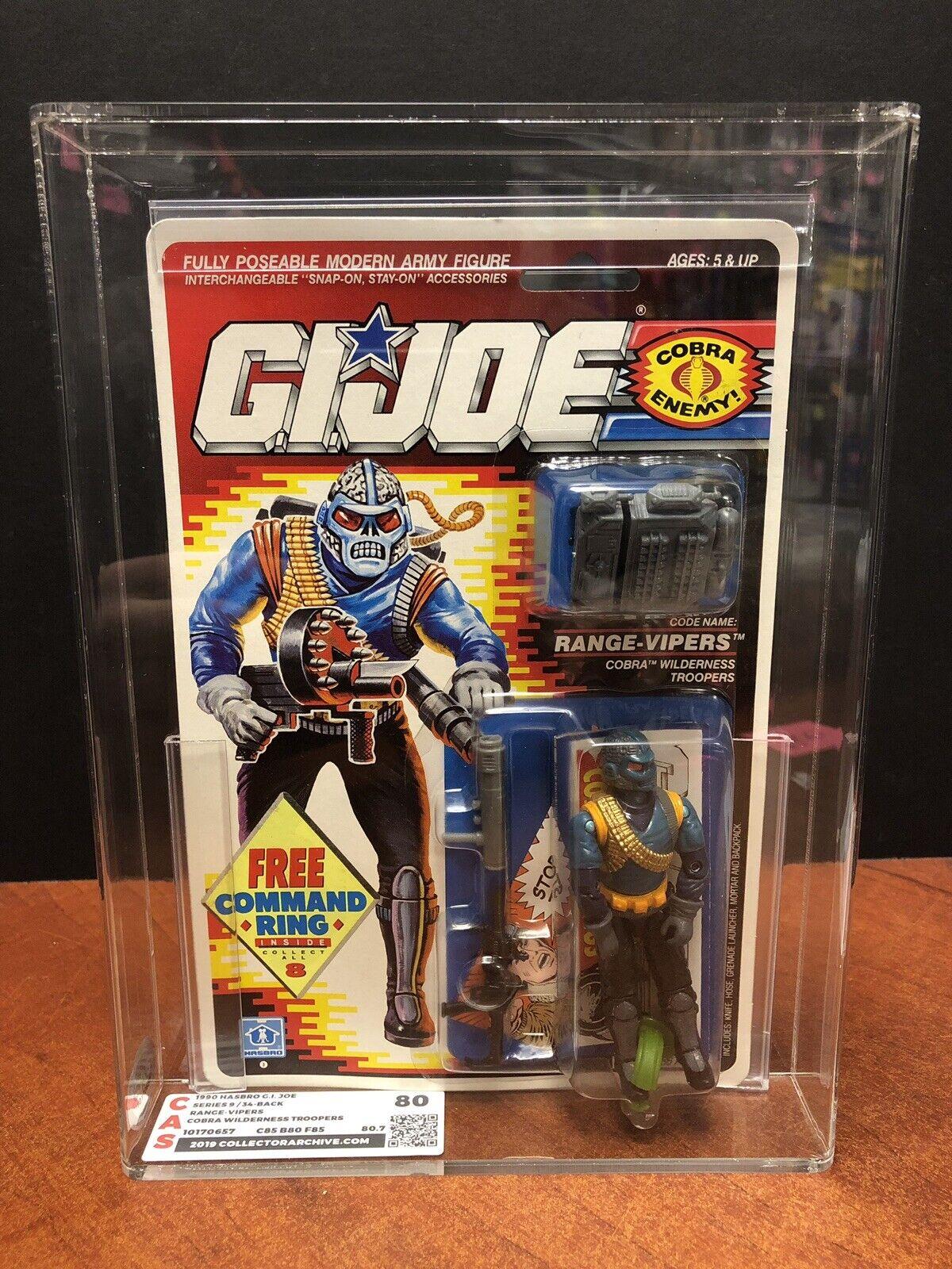 GI Joe 1990 Range Vipers Cobra Wilderness Troopers CAS 80 Dela1662