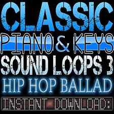 PIANO,KEYS,RHODES,SOUNDS WAV LOOP SAMPLES 3 Hip Hop Ballad Akai Reason Fl Studio