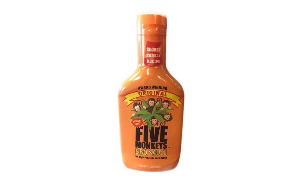 Original Five Monkeys Bbq Sauce  864063000403