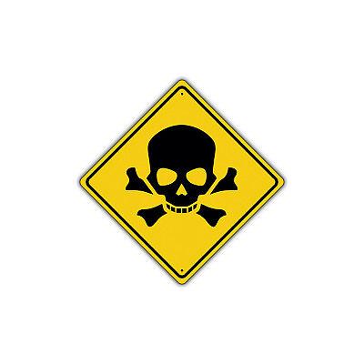 Danger Gun Range Security Aluminum Metal Sign
