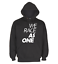 miniatuur 1 - Black-Pullover-Hoodie-Perfect-For-Car-Guys-WE-RACE-AS-ONE-New-Design-PETROLHEAD