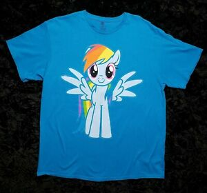 My Little Pony Brony Mens Turquoise T-Shirt