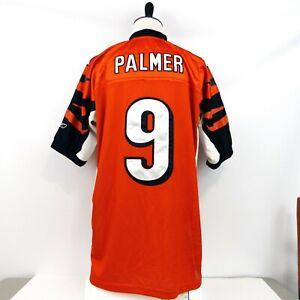 Details about Reebok CARSON PALMER No. 9 CINCINNATI BENGALS Authentic (Size 52) Jersey