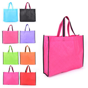 Image Is Loading New Fabric Storage Eco Reusable Ping Bag Tote