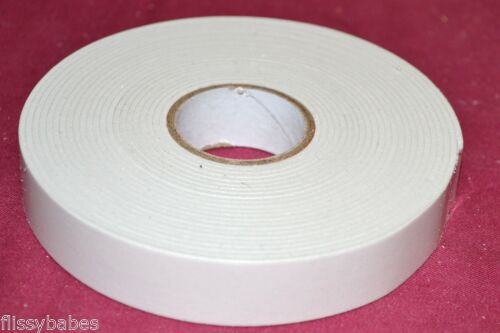 5 Metres Double Sided Foam Adhesive Tape 18mm Wide 2mm Deep  NEW