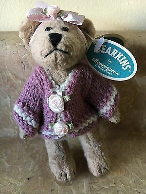 "Bearkins By Bearington 4"" Tall Teddy Bear Very Nice Condition Bears"