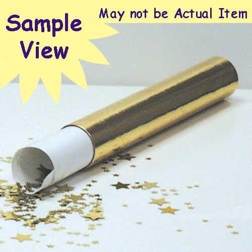 As low as $1.81 per 1//2 oz FREE SHIP Confetti MultiShape New Bubbly Gold Silver