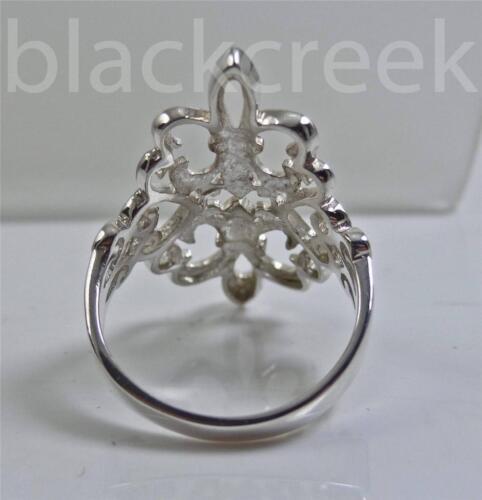 925 Steriling Silver ~ Double Fleur De Lis Wrap Ring ~ Size 4 to 12.5