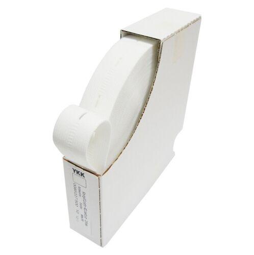 2.80 euros//metros ojal cinta elástica 18mm blanco