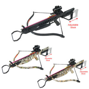 175-lb-Black-Camouflage-Hunting-Crossbow-Bow-7-Arrows-Stringer-Wax-150
