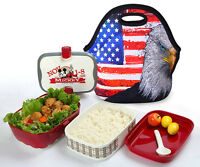 Feather Travel Lunch Bags Tote Box Outdoor Cooler Thermal Waterproof Container