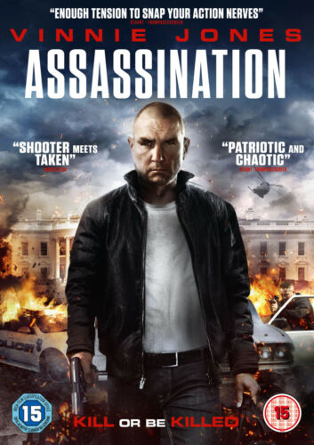 1 of 1 - Assassination (DVD) (NEW AND SEALED) (VINNIE JONES) (REGION 2) (FREE POST)