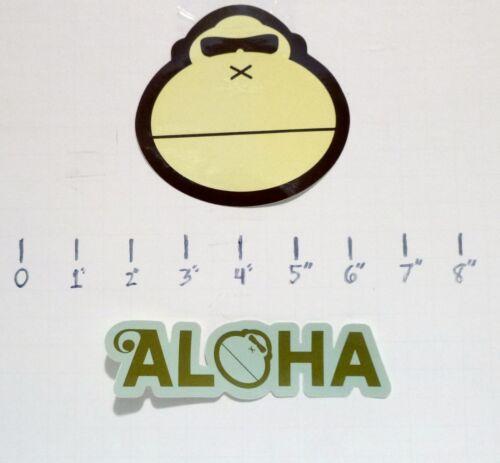 Sun Bum Sunscreen Sonny the Ape sticker Aloha surfing boarding beach life salty