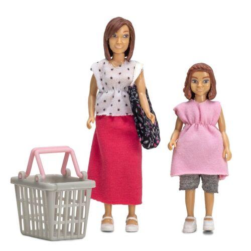 1:18 Smaland Frau Tochter Kind Shopping Doll Set Lundby 60.8072