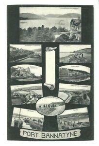 Postcard-Port-Bannatyne-Argyll-amp-Bute-1905-Rothesay-Ettrick-Bay