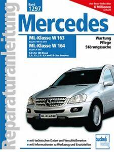 Mercedes-ML-230-320-350-430-500-280-CDI-W163-W164-Reparaturanleitung-Handbuch