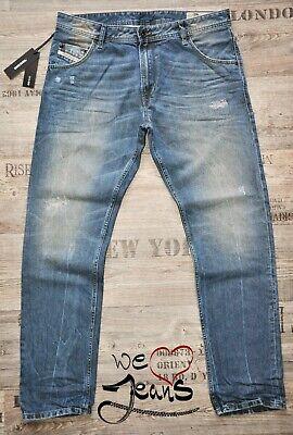 Diesel Krayver Dna 3d Evo 0837h 34 L32 Slim Carota Nuovo Uomo/jeans Da Uomo Di Soccorso-mostra Il Titolo Originale Diversificato Nell'Imballaggio