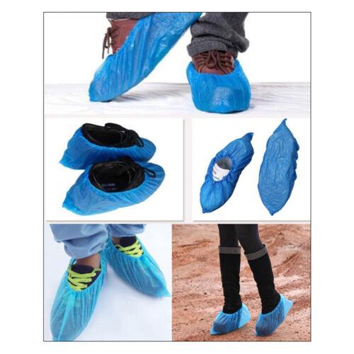 200x Einweg-Überschuhe Regenschuhbezüge Stiefelschutz Für Frauen Männer 1g