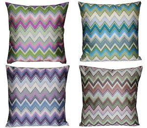 Cuscini Per Divani.Multicolore Zigzag Motivo Azteco 16 X 16 Copricuscino Cuscino