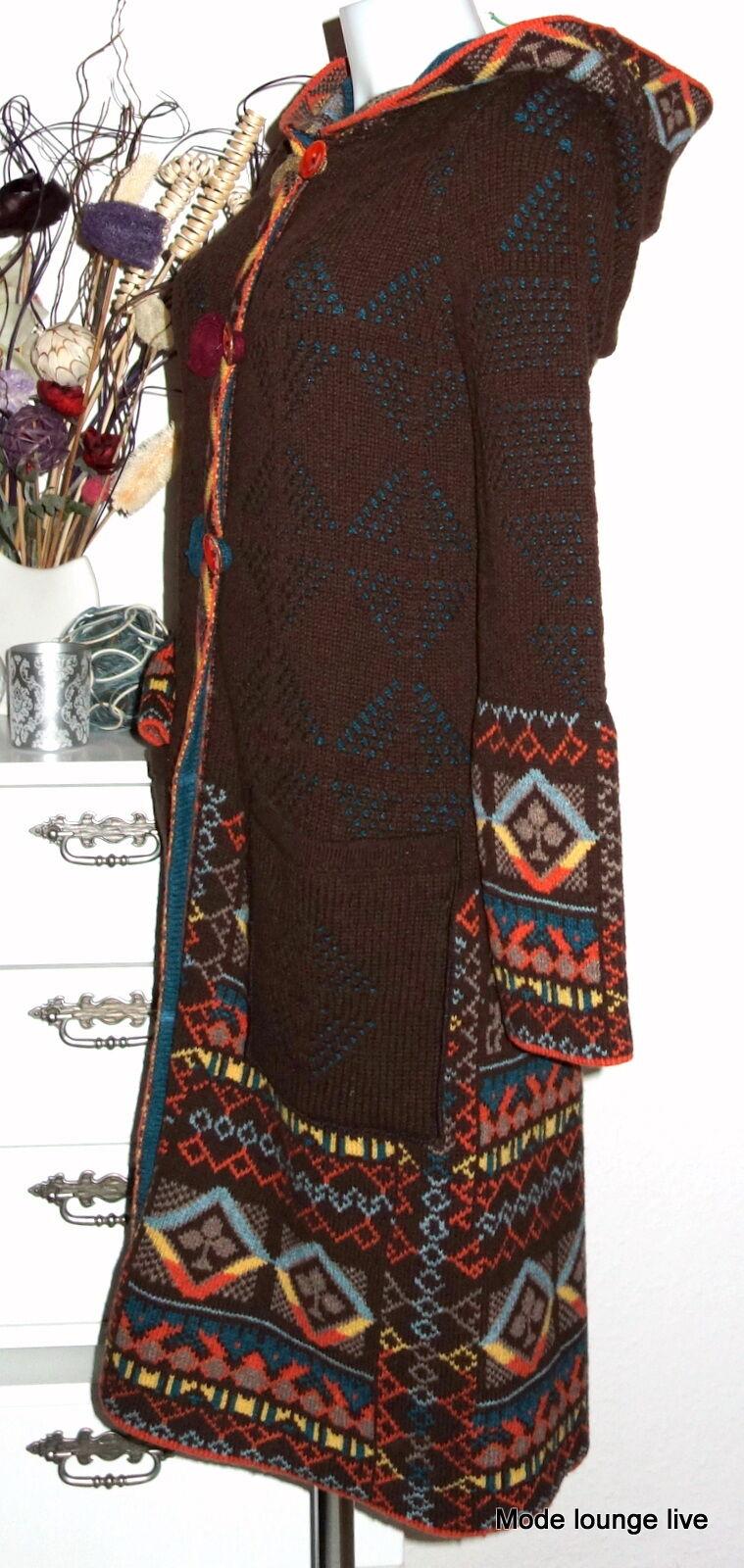 IVKO Wolle Mantel mit Mütze braun wool with Eclecticism Hoodi Coat braun 32702 | Deutschland  | Hohe Qualität und Wirtschaftlichkeit  | Shop  | New Listing  | Vorzugspreis