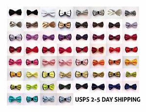 60-Classic-Fashion-Novelty-Mens-Adjustable-Tuxedo-Bowtie-Wedding-Bow-Tie-Necktie