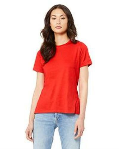 Bella Canvas Women Relaxed Tee Colors P-Z