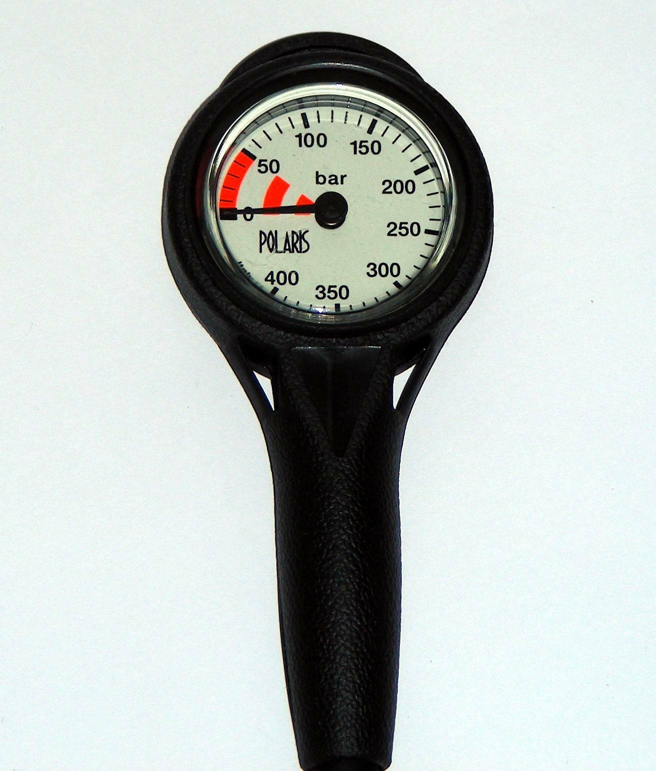 Finimeter 0-400 Bar - Slim Slim Slim Line SPG Messingkapsel 85748f