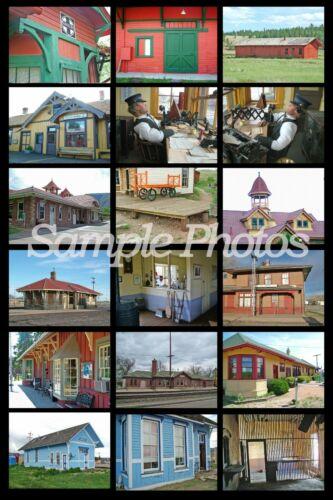 """L/'ultime prototype Photo Railroad Modeling guide avec plus de/"""" 35,000 photos/""""!"""