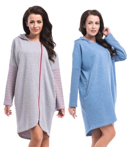 Maternity /& nursing breastfeeding very nice Tunic Dressing Gown 5065 MIJA