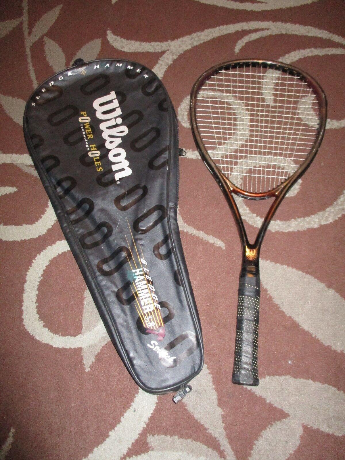 Martillo 2.8 Wilson Trineo Stretch OverTalla 116 4 1 4 Tenis Raqueta Agarre Con Bolsa De 4 3 8
