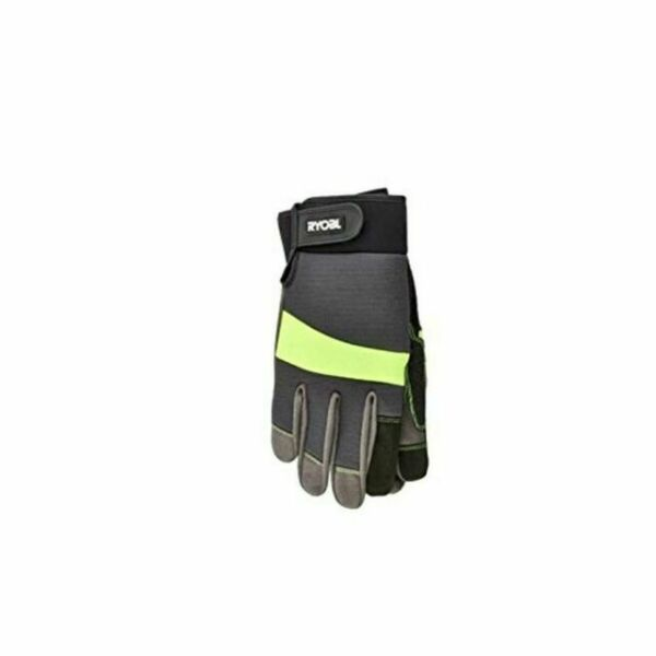 2 Pairs Safety Works Gardening Work Gloves w Reinforced Thumb Pad X Large