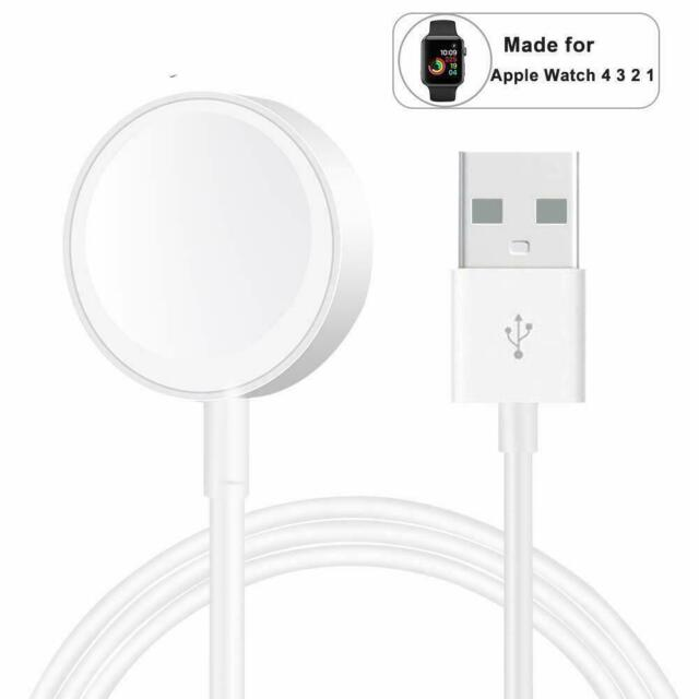Magnetic Charging Dock USB Charger Cable For Watch iWatch 4 3 Series 1 2 W9U9