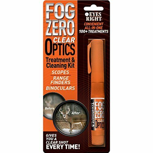Lens Cleaning and Anti-fog Kit for Clear Scopes /& Binoculars Lasting Results