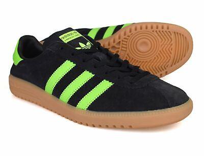 Adidas Originals Bermuda Black Green Trainers BB5271 Free