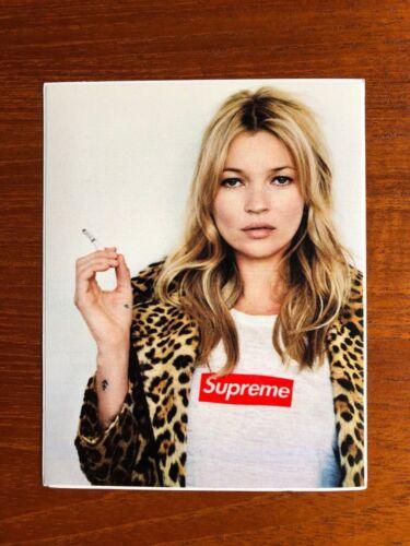 NEW Supreme Kate Moss anniversary Box Logo Sticker 100/% Original Lot 3