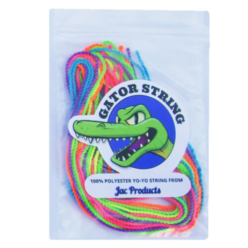 Gator String Professional YoYo String UV Pro Yo Yo Trick String Pack of 6