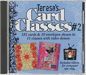 Teresa S Card Classes 2 Dvd Cardmaking Making Greeting Cards Paper