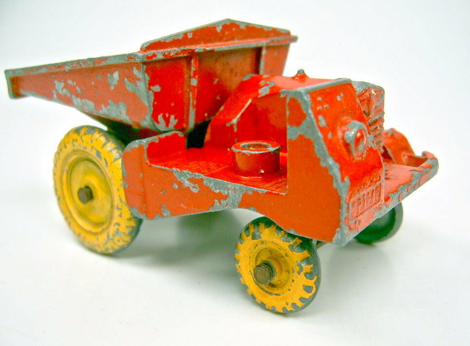 Matchbox Early Lesney Toys Large  SITE DUMPER  by Condon Red