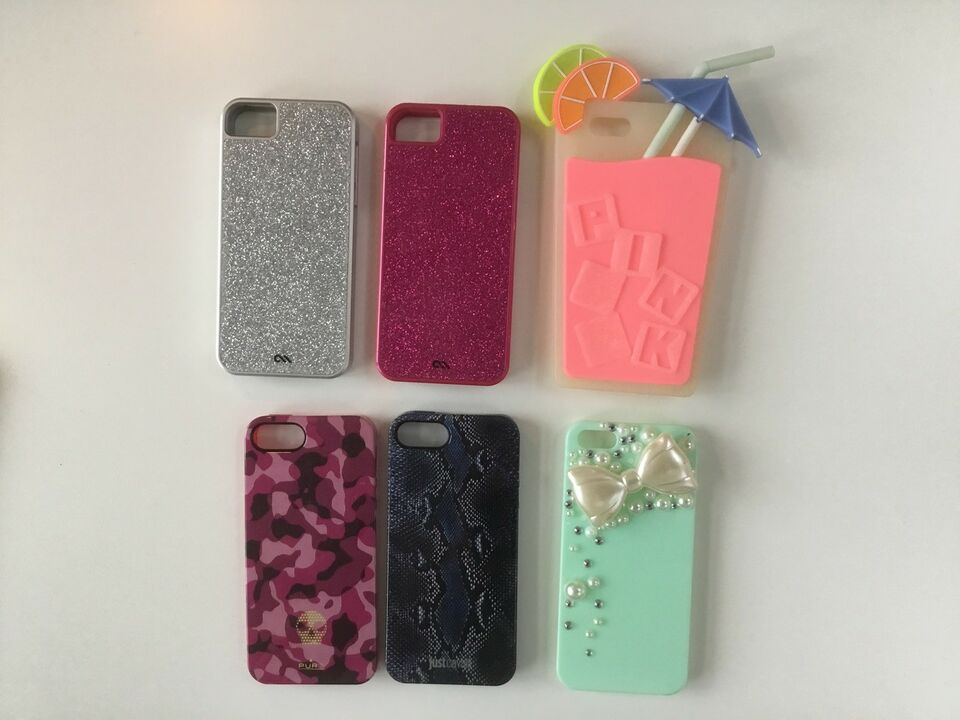 Cover, t. iPhone, 5 og 5S og SE