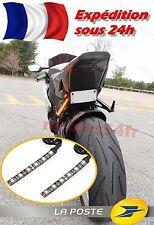 x2 CLIGNOTANT 6 LED Moto Scooter motocicleta Turn Signal luz intermitentes Seña