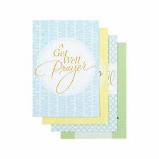 DaySpring Get Well Boxed Greeting Cards w Embossed Envelopes 12... Free Shipping
